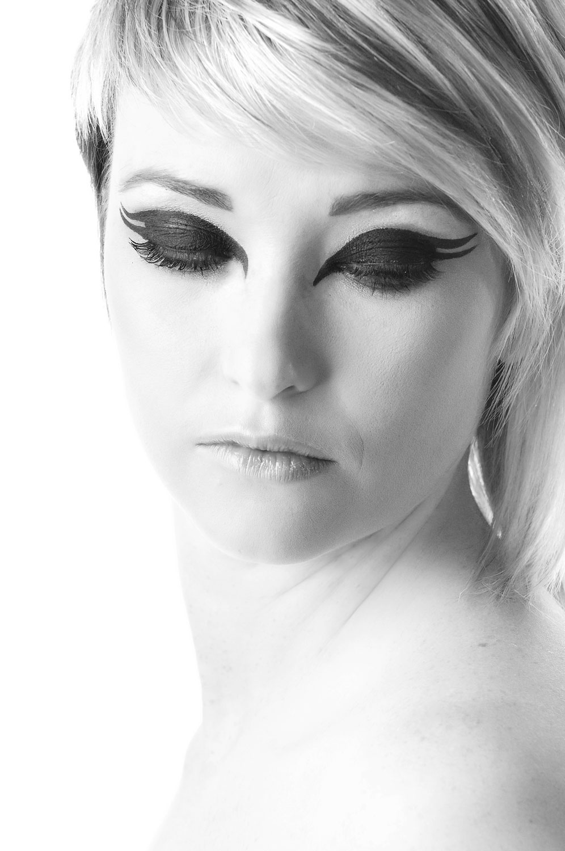 Graphic Eyeliner Black and White photography Asos   CATHERINE ...