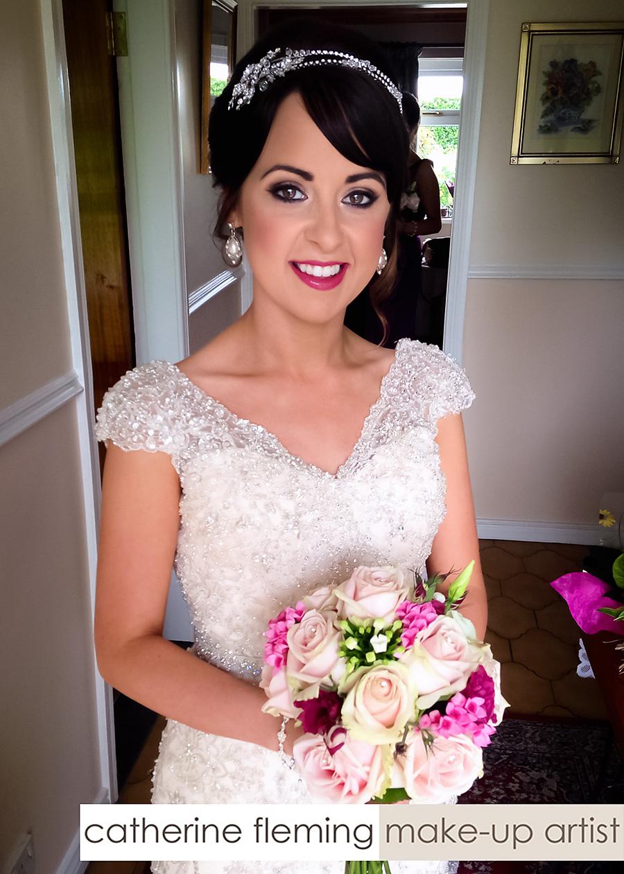 Catherine Fleming Bridal Wedding Makeup Artist Dungannon - Part 2